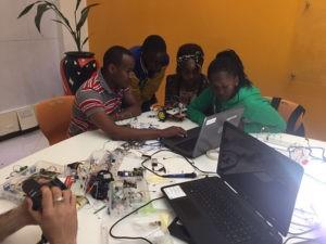Coding training at Akirachix futureofleadership big data save lives