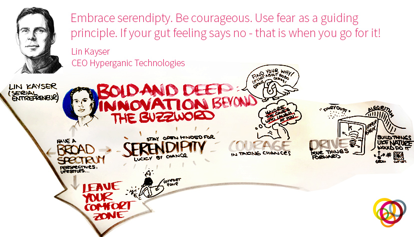 Lin Kayser courage and serendipity futureofleadership